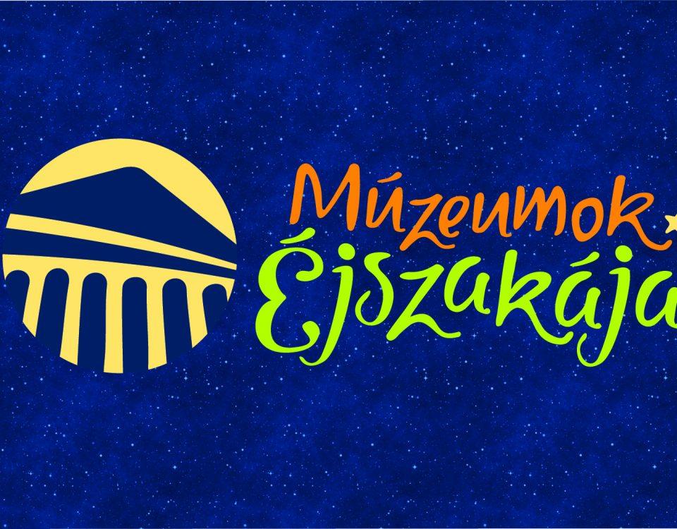 Muzej logo háttérrel