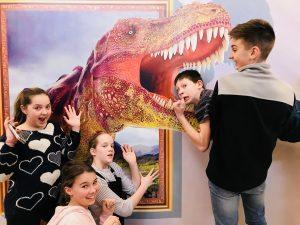 T-rex etetés