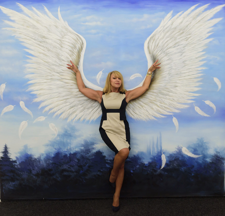 Földre szállt angyal